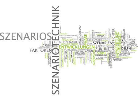 pensamiento estrategico: Nube de palabras - la planificaci�n de escenarios