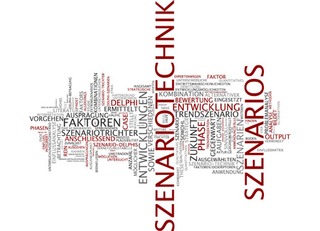 generalization: Word cloud - scenario planning