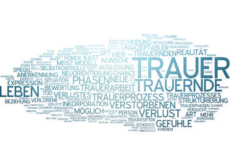 grieving: Word cloud - mourning