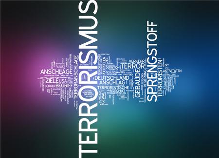 terrorism: Word cloud - terrorism