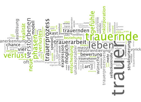 mourning: Word cloud - mourning