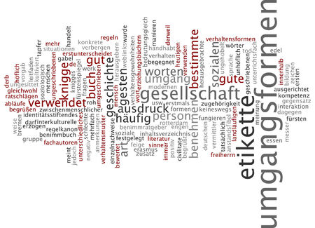 courteous: Word cloud - manners