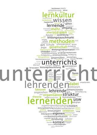 Word cloud - teaching photo
