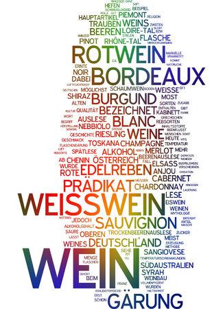 sauvignon: Word cloud - wine