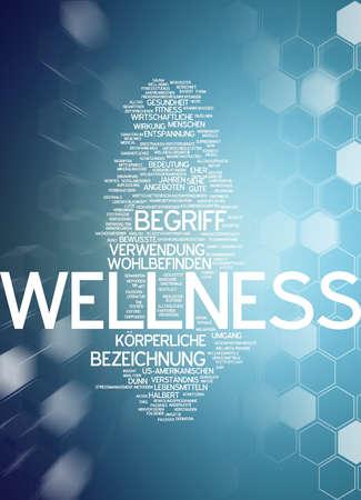 self improvement: Word cloud - wellness
