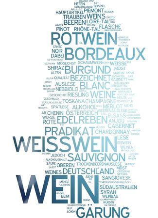 white riesling grape: Word cloud - wine