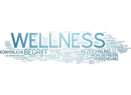 Word cloud - wellness