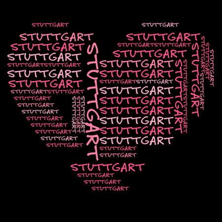 stuttgart: I love Stuttgart German City