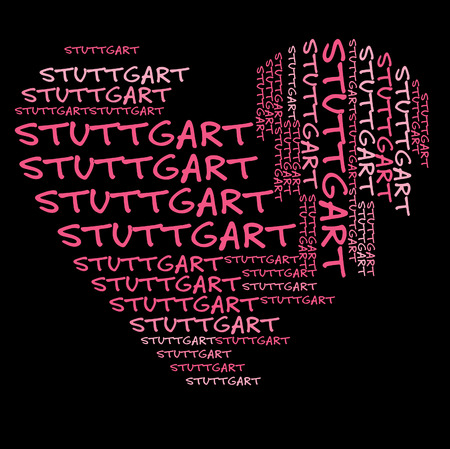 stuttgart: I love Stuttgart German City