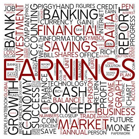 earnings: Word cloud - earnings