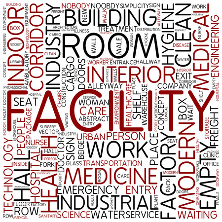the facility: Word cloud - facility
