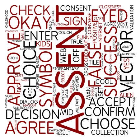 assentiment: Nuage de mots - sanction