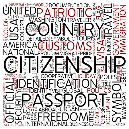 Word cloud - cittadinanza