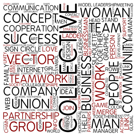 collective: Word cloud - collective
