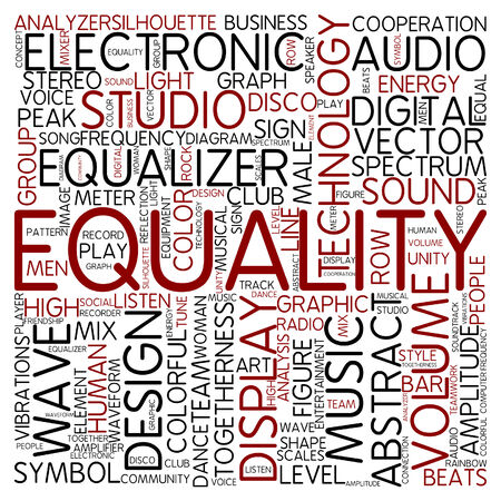 wave equality: Word cloud - equality