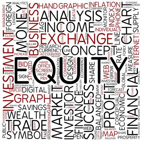 equity: Nube de palabras - la equidad