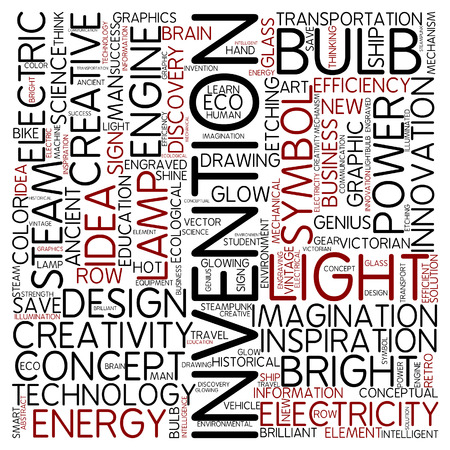 invention: Word cloud - invention