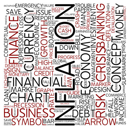 Word cloud - inflation photo
