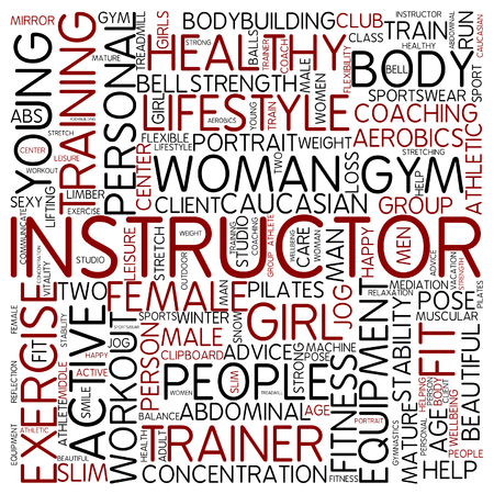 instructor: Word cloud - instructor