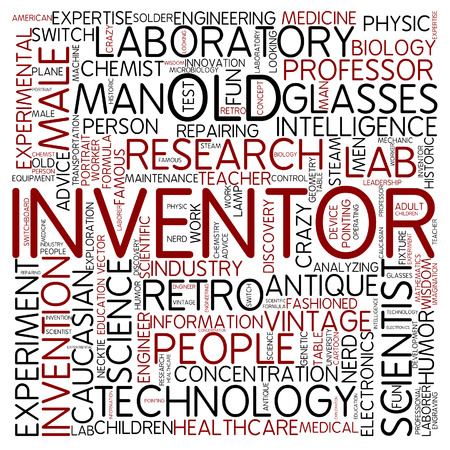 inventor: Word cloud - inventor