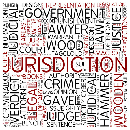 Word cloud - jurisdiction photo