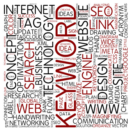to keyword: Word cloud - keyword