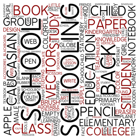 schooling: Word cloud - schooling