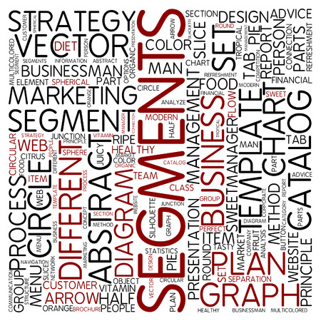 segments: Word cloud - segments