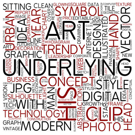 underlying: Word cloud - underlying