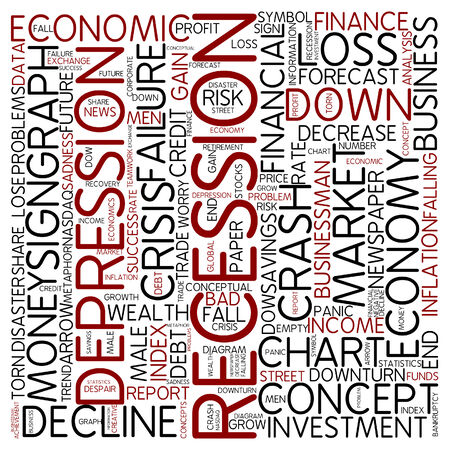 recession: Word cloud - recession