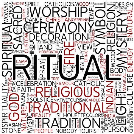 rituals: Word cloud - ritual