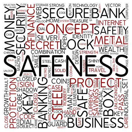 safeness: Word cloud - safeness