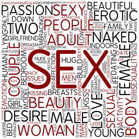 Word cloud - sex