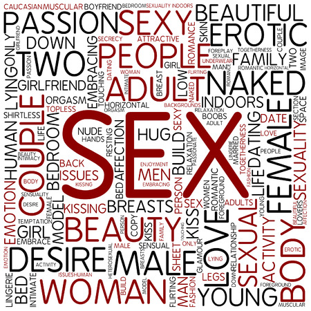 Word cloud - sex