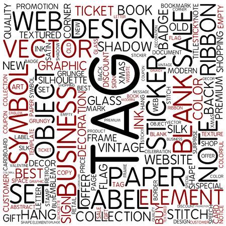cloud tag: Word cloud - tag