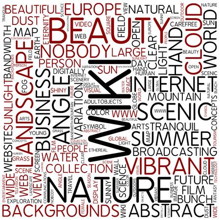 wiki: Word cloud - wiki