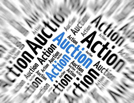 tagcloud: Tagcloud - action auction