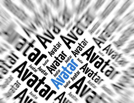 tagcloud: Tagcloud - Avatar Stock Photo