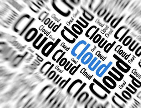 tagcloud: Tagcloud - Cloud Stock Photo