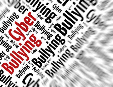 bullying: Tagcloud - Cyber bullying
