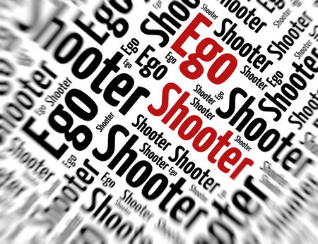 tagcloud: Tagcloud - Ego shooter
