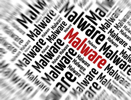 malware: Tagcloud - Malware Stock Photo