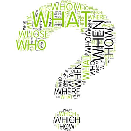 word clouds: Word cloud - question