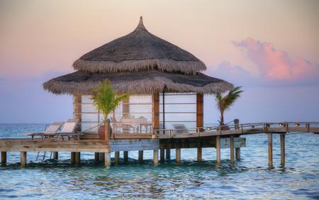 Jetty on Maldives
