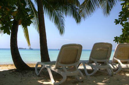 southern indian: Beach on Maldive Islands
