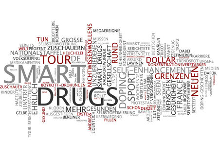 optimizer: Word cloud of smart drugs in German language