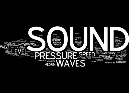 english language: Word cloud of sound in English language