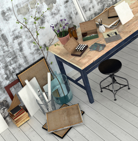 Interior design supplies