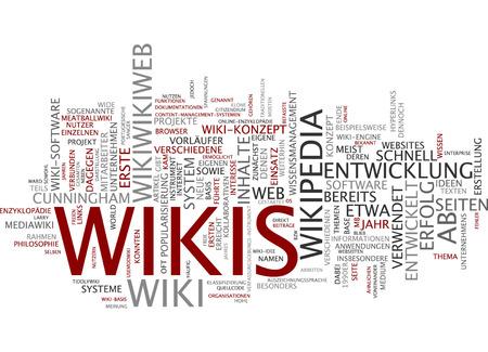 wiki: Word cloud of wikipedia in German language