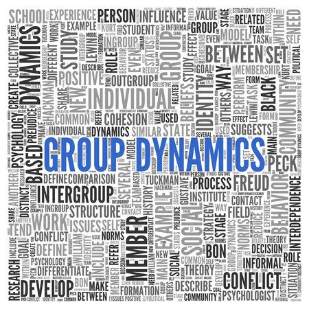 social conflicts: Cierre de la din�mica de grupo Texto en el Tag Centro de nube de la palabra en el fondo blanco.